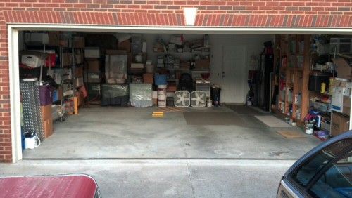 garage with room for two cars