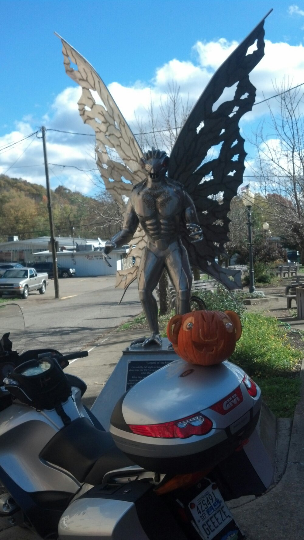 Mothman at Point Pleasant, WV