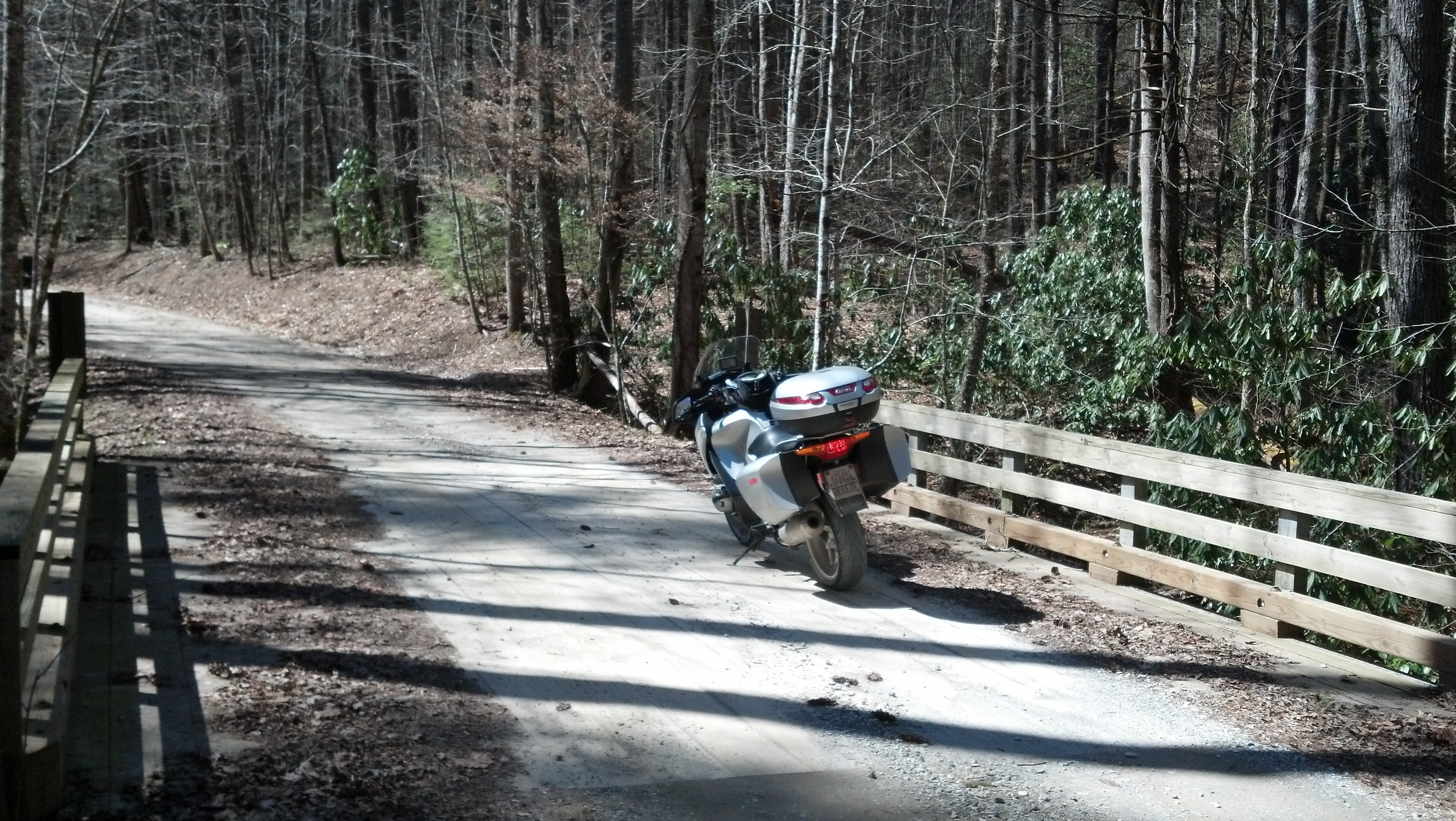 Unusually warm day in East TN calls for a ride in the GSMNP